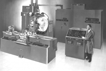 Evolution of CNC machining