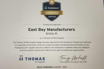East Bay Mfg on Thomasnet